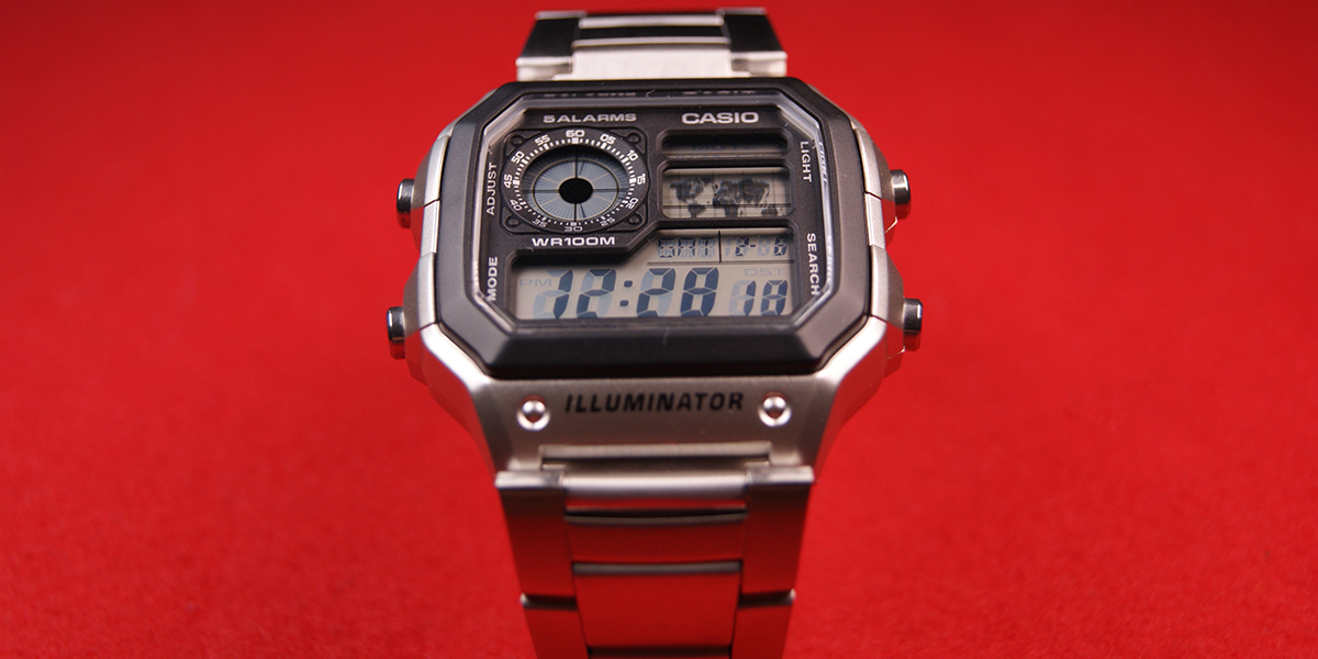 Casio AE1200 Isolated
